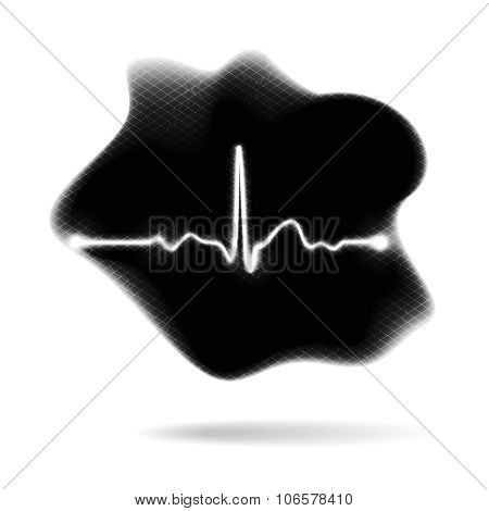 Pulse Of Life Abstract Concept Illustration
