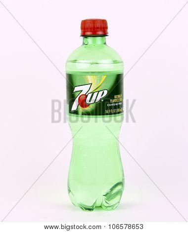 Bottle Of 7Up Soda