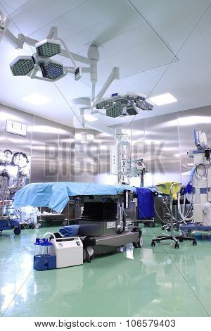 Modern Operating Room With Contemporary Equipment
