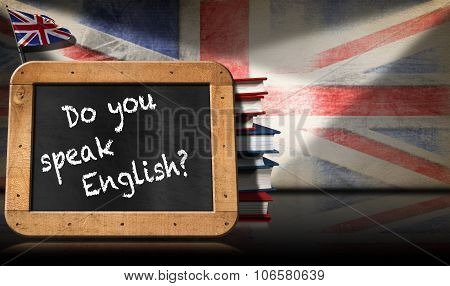 Do You Speak English - Blackboard And Books