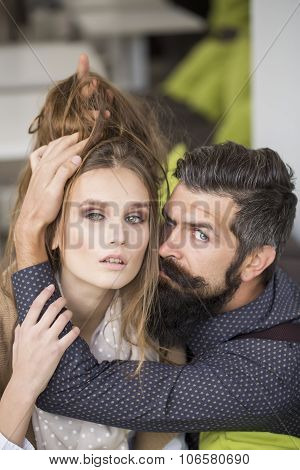 Young Couple Indoor