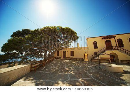 View of Preveli monastery
