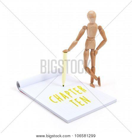 Wooden Mannequin Writing - Chapter Ten