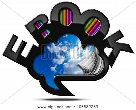 E-book - Speech Bubble Cloud