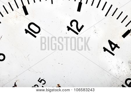Dial Scale Background