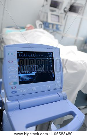 Monitoring Of The Patient's Vital Signs In Hospital