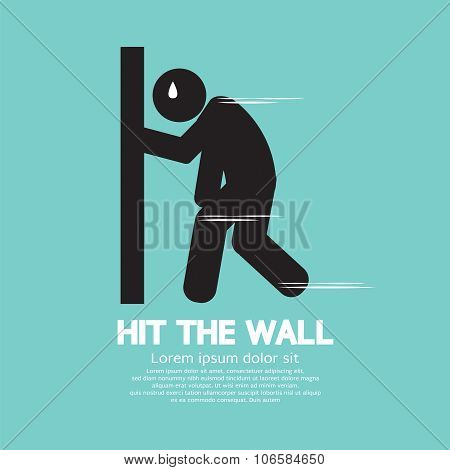 Hit The Wall, Run Out Of Energy Runner.