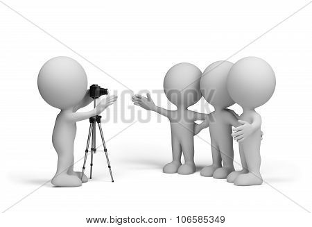 Friends Are Photographed
