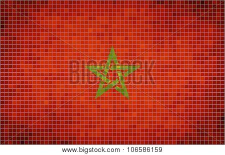 Flag Of Morocco.eps