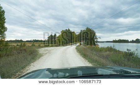 Dirt Road In Seney National Widlife Refuge