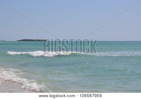 Indian Ocean Waves in Jurien Bay