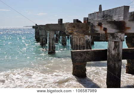 Abandoned Jetty Perspective: Jurien Bay