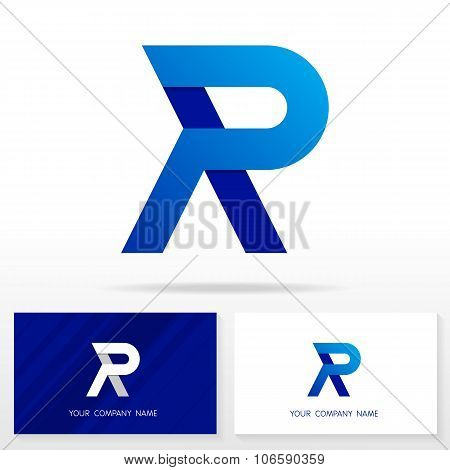 Letter R logo icon design template elements - Illustration.