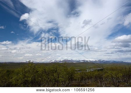 Wide Land In Norway