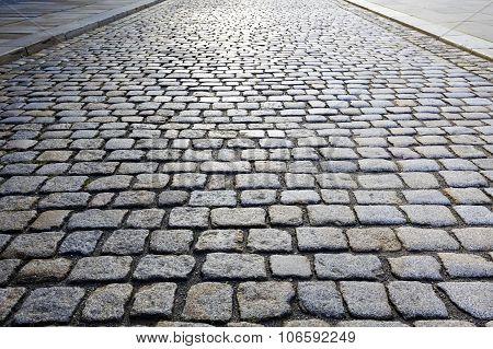 Cobbled Road