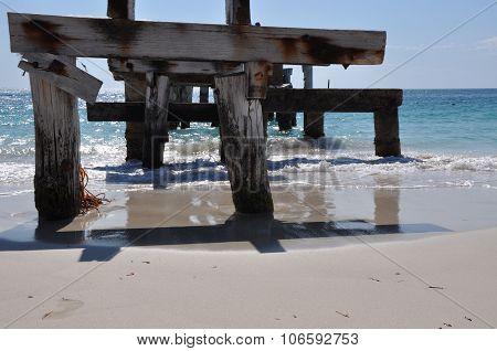 Abandoned Jetty: Jurien Bay, Western Australia