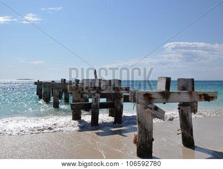 Jurien Bay Abandoned Jetty Length