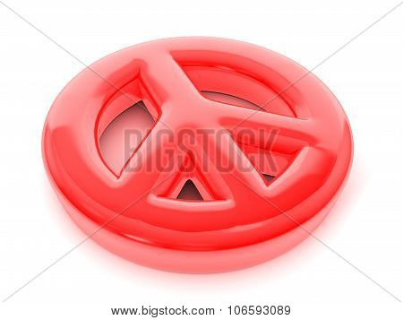Balloon Peace Symbol