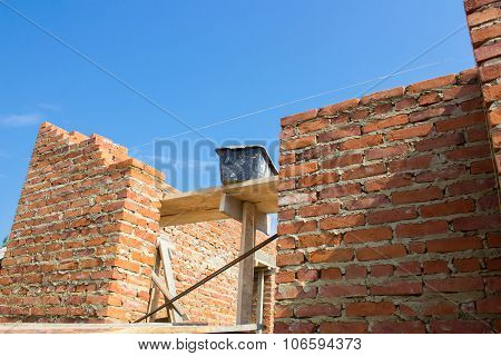 wall construction house
