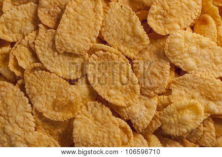 Corn Flakes Food Background