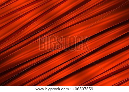 background of red 3d abstract waves