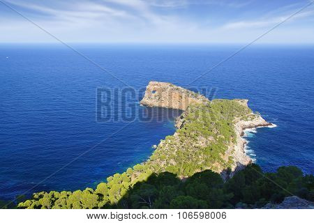 Na Foradada Cape. Mallorca
