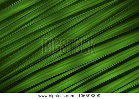 background of green 3d abstract waves