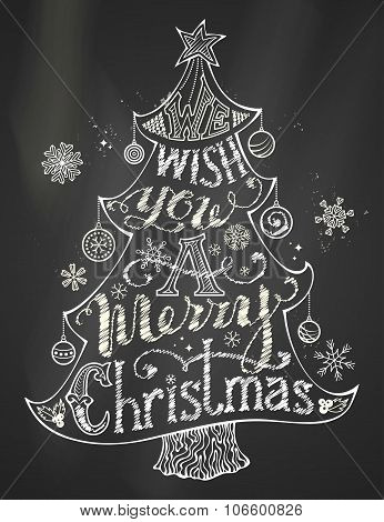 We Wish You A Merry Christmas.