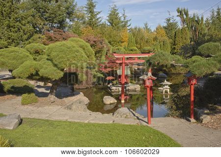 Japanese Garden In Tacoma Washington