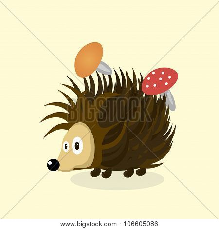 Animal Hedgehog Cartoon