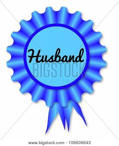 New Husband Rosette