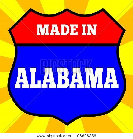 Made In Alabama Shield