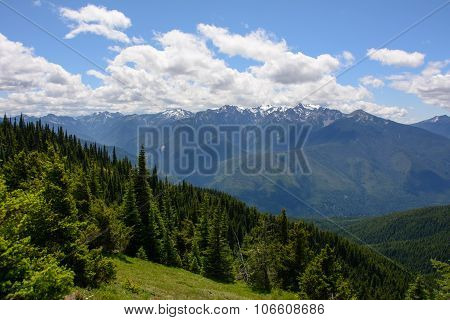 Mountains in Olympic National Park, WA