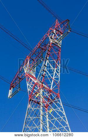 High-voltage Power Trasmission Pylon