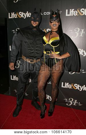 LOS ANGELES - OCT 29:  Jacob Payne, Natalie Nunn at the Life & Style Weekly's