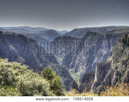Black Canyon of the Gunnison in Colorado