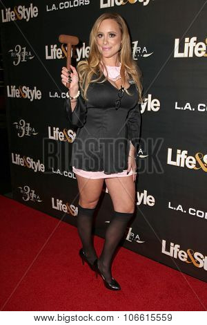 LOS ANGELES - OCT 29:  Erica Rose at the Life & Style Weekly's