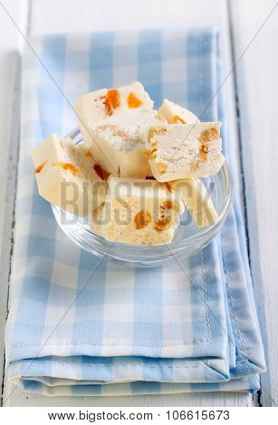 Nougat With Fruit And Nuts