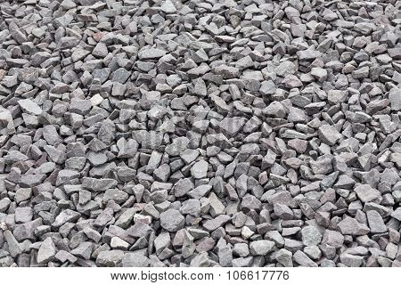 Gravel Stones Background Or Texture