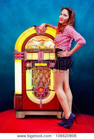 Pinup and jukebox