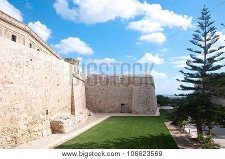 Particularly The Walls Of Mdina , Malta