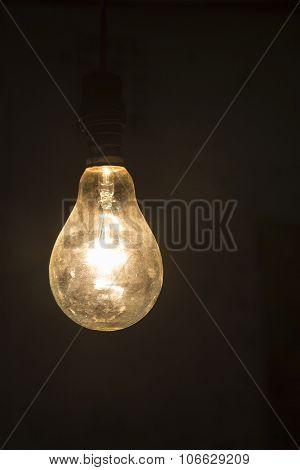 Light In Dark Background