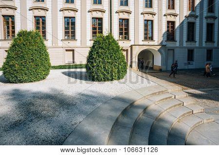 Courtyard of Prague Castle, Czech Republic