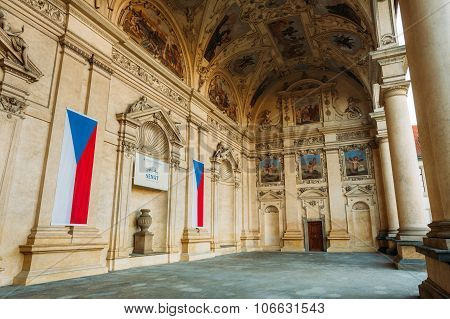 Senate of Czech Republic in Prague