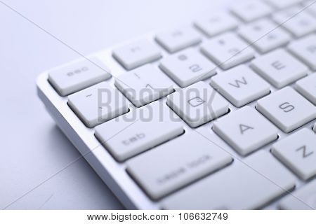 Keyboard Of Computer
