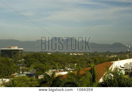 12406 8572 City View And Lake Managua