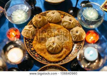 Baozi Dumplings.