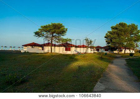 Recreation area Ada Bojana.