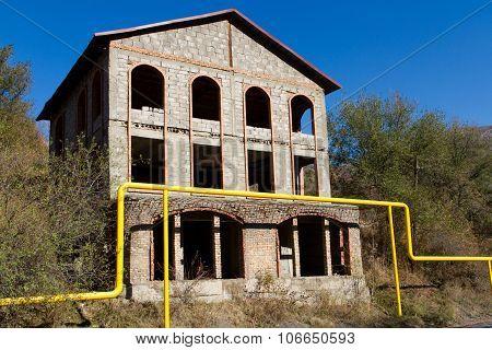 Unfinished Abandoned House