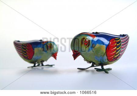 Two Tin Birds